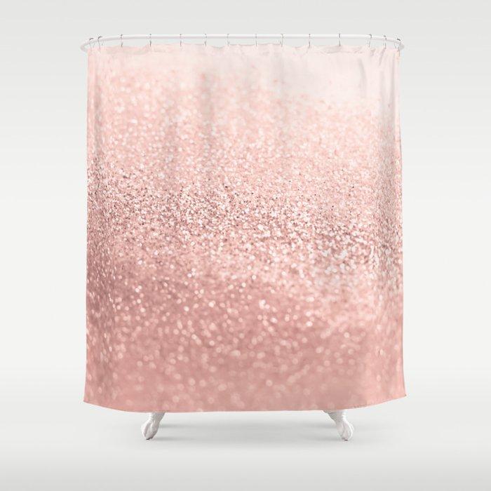 Rosegold Shower Curtain By Monikastrigel Society6