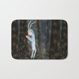 Woodland creature Bath Mat