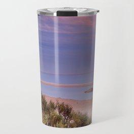 """""""Tarifa"""". Atlantic Ocean beach Travel Mug"""