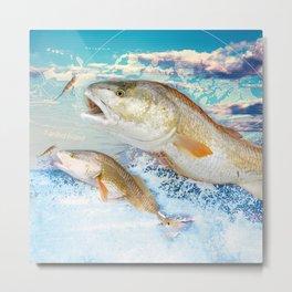 Red Fish Metal Print