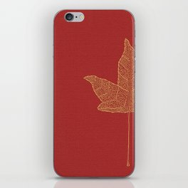Maple leaf iPhone Skin