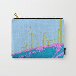 Palm Springs Wind Farm, California Carry-All Pouch