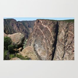 Painted Black Canyon of the Gunnison Walls Rug
