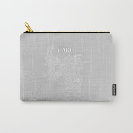 LARU Grey Carry-All Pouch