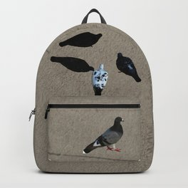 The pigeons' snack time Backpack