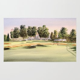 Oakmont Golf Course Rug