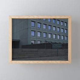 Deadlines Framed Mini Art Print