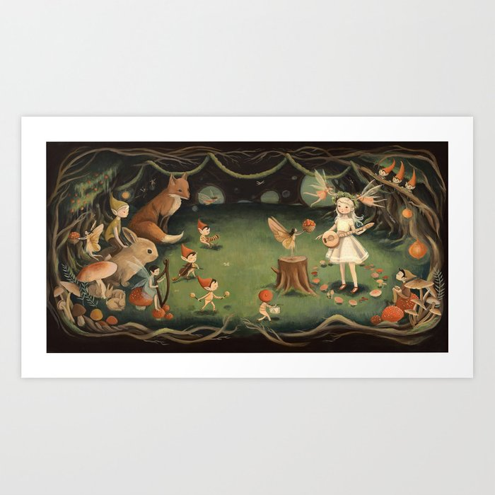 The Fairy Dream by Emily Winfield Martin Art Print