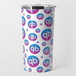 qiibee Pattern Dark Travel Mug