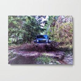 You Remind Me of My Jeep Metal Print