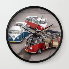 Samba Trio Wall Clock