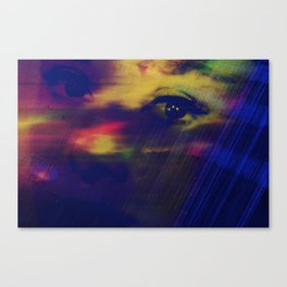 Burning Eyes 03 Canvas Print