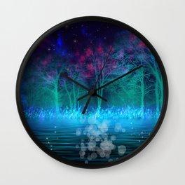 """Mystical Night"" Wall Clock"