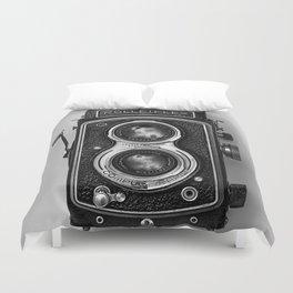 Rolliflex Camera Duvet Cover