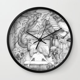 What am I doing at 8am Wall Clock