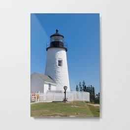 Pemaquid Point Maine Metal Print
