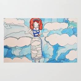 Sky Girl Rug