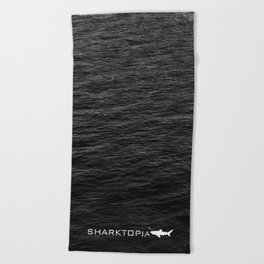 Sharktopia - 2018 Logo Beach Towel