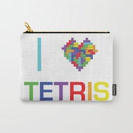 I heart Tetris Carry-All Pouch