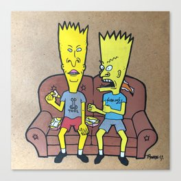 bevies and barthead Canvas Print