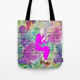 I must give you my thoughts, my mind, my dreams Tote Bag