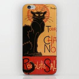 "Théophile Steinlen ""Tournée du Chat Noir"" iPhone Skin"