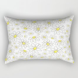 Picking Daisies Rectangular Pillow