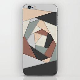 Earth Tones Layers iPhone Skin