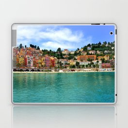 Menton Harbour View Laptop & iPad Skin