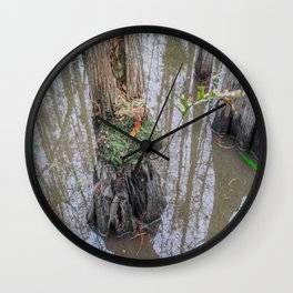 The  Swamp Fairy's Home Wall Clock