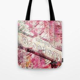 Broadway sign New York City Tote Bag