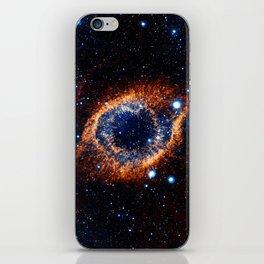 Helix Nebula (Infrared) iPhone Skin