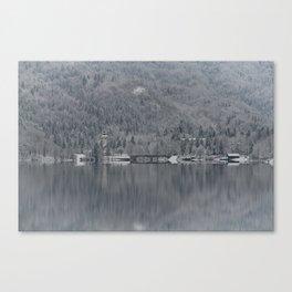Church At Lake Bohinj Canvas Print