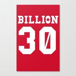 30Billion - Sport Edition 05 Canvas Print