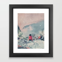 Lost in the 17th Dimension Framed Art Print