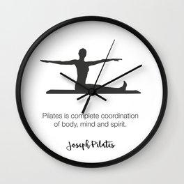 Pilates Studio Decor Wall Clock