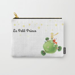 The Little Prince, with the fox and planet Carry-All Pouch
