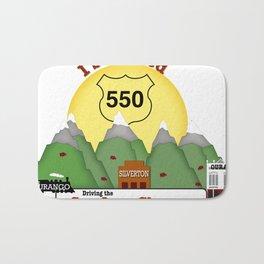 I Survived Hwy 550 Durango, Silverton & Ouray Colorado Bath Mat