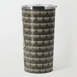 Buffalo Running (Gray) Travel Mug