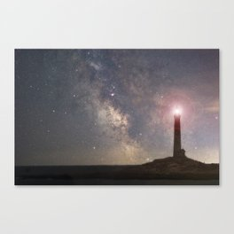 Milkyway over Thacher Island Canvas Print