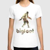 bigfoot T-shirts featuring Bigfoot Predator by D-fens