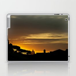 Roma, tramonto   Rome, sunset Laptop & iPad Skin
