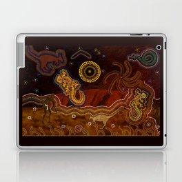 Desert Heat - Australian Aboriginal Art Theme Laptop & iPad Skin