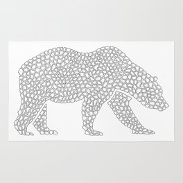 Pattern - Grizzly Bear Rug