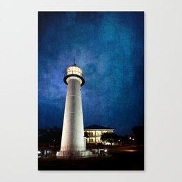 Lighthouse Blues Canvas Print