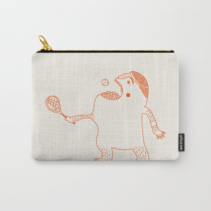 Game, Set and Munch Carry-All Pouch