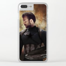 America Captain (Infinity War) Clear iPhone Case