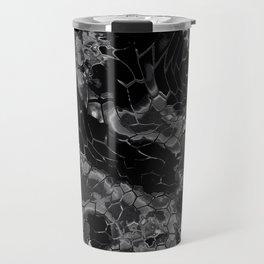 black dragon scales camouflage Travel Mug