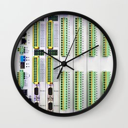 Modern programmable logic controller Wall Clock