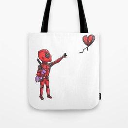 Unicorn and Balloon Tote Bag